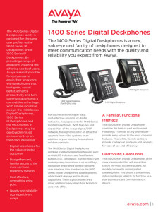 AVAYA 1400_series_telephones