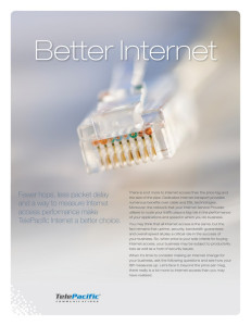 Better Internet Telepacific