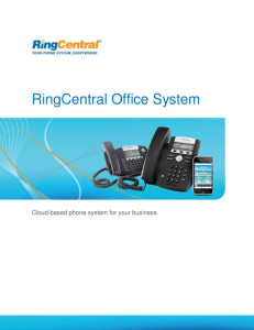 RingCentral Brochure - Reference