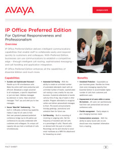 ip office preferred_lb4317